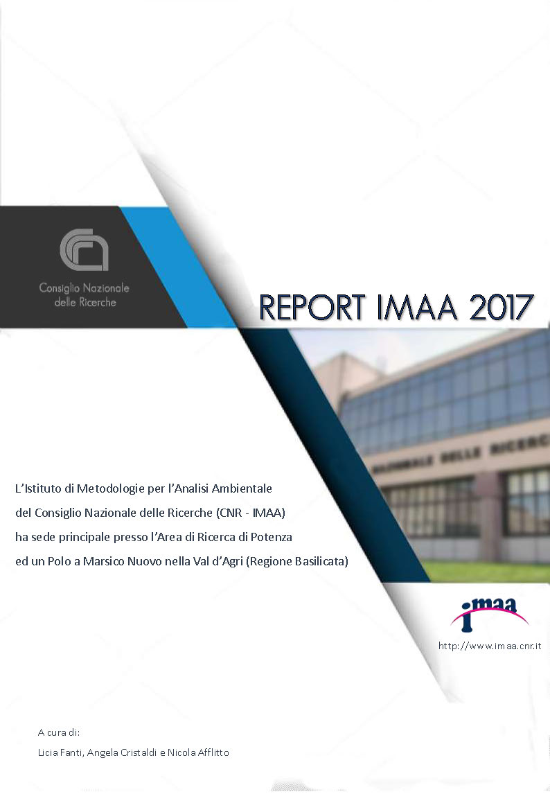 IMAA Report 2017 fronte